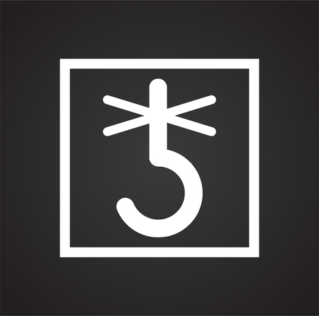 Packaging symbol on background for graphic and web design. Simple vector sign. Internet concept symbol for website button or mobile app.
