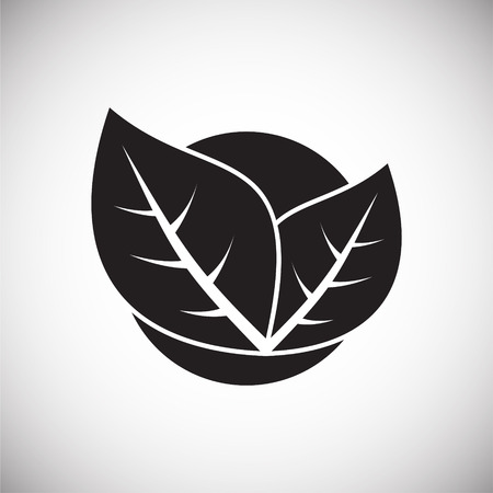Nature related icon on background for graphic and web design. Simple vector sign. Internet concept symbol for website button or mobile app.
