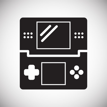 Gaming Icon On Background For Graphic And Web Design  Simple