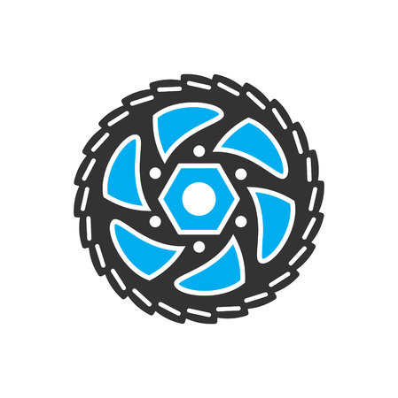 Bicycle star icon on background for graphic and web design. Simple vector sign. Internet concept symbol for website button or mobile app