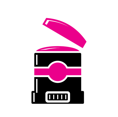 Beauty related icon on background for graphic and web design. Simple vector sign. Internet concept symbol for website button or mobile app.