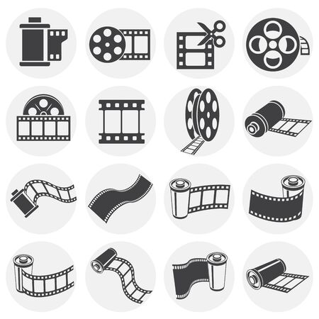 6,556 Film Strip Border Cliparts, Stock Vector And Royalty