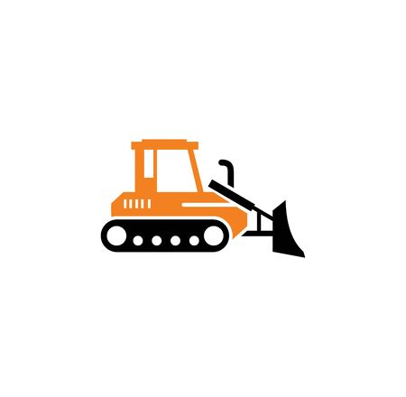 Heavy vehicle related icon on background for graphic and web design. Simple illustration. Internet concept symbol for website button or mobile app Standard-Bild - 127589289