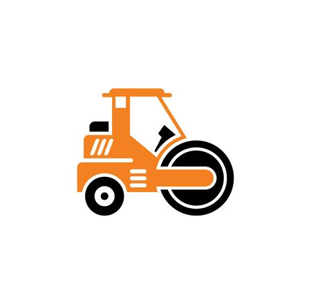 Heavy vehicle related icon on background for graphic and web design. Simple illustration. Internet concept symbol for website button or mobile app Standard-Bild - 127589167