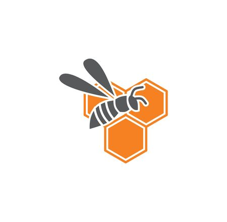 Beekeeping related icon on background for graphic and web design. Simple illustration. Internet concept symbol for website button or mobile app