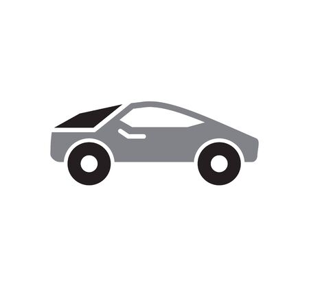 Transportation related icon on background for graphic and web design. Simple illustration. Internet concept symbol for website button or mobile app Vettoriali