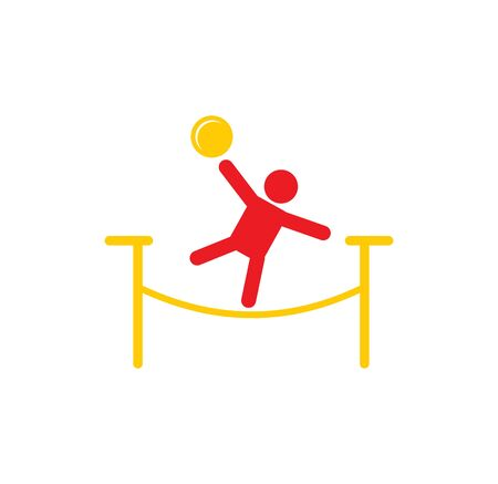 Circus related icon on background for graphic and web design. Simple illustration. Internet concept symbol for website button or mobile app 向量圖像