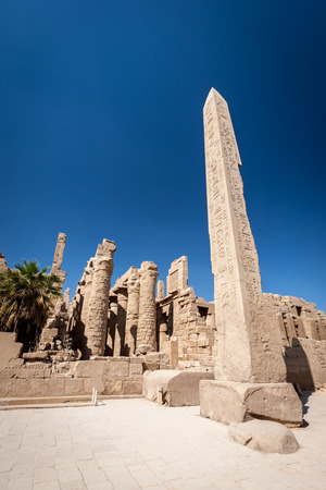Wide angle view of Hatshepsut photo