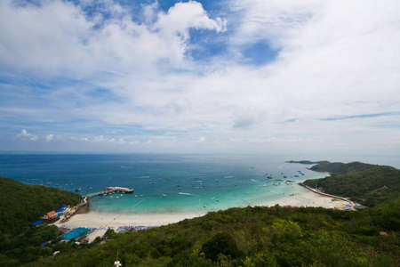 briny: Hight angle of koh larn pattaya