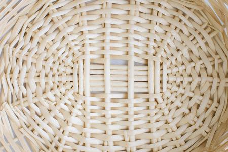 Basket weaving pattern Stock Photo