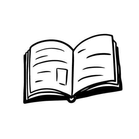 Doodle sketch book, illustration on a white background. Stock Illustratie