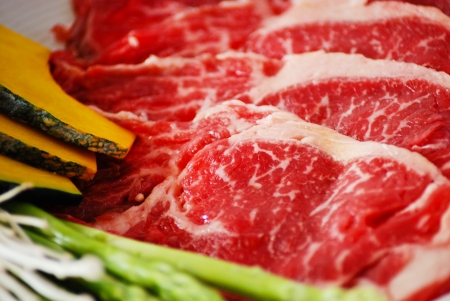rib eye: Rib eye, beef grill japanese style Stock Photo