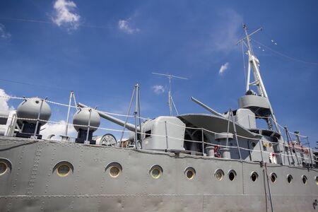 klong: Thai old battleship, Mae Klong