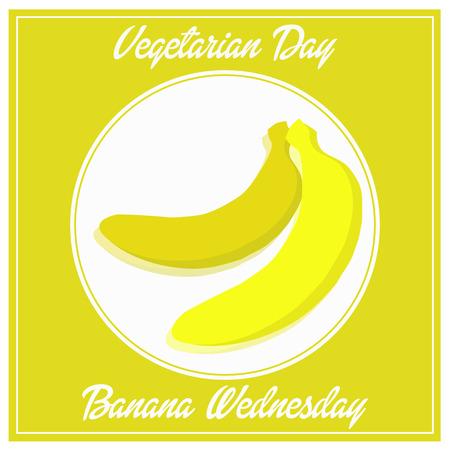 vegetarian day banana wednesday fhesh week