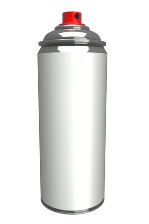 3d aluminum cans  high resolution, white background photo