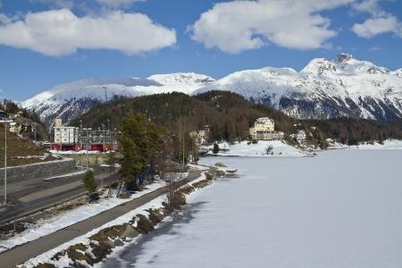 St  Moritz is often called an Alpine metropolis  Stock Photo - 17207476