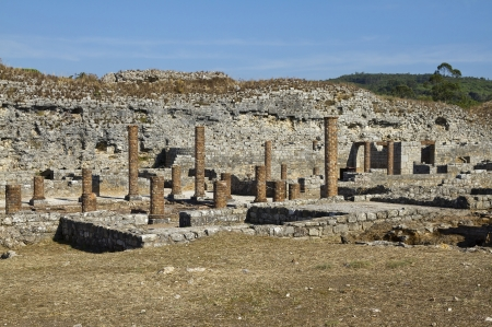 Conímbriga is one of the largest Roman settlements in Portugal photo