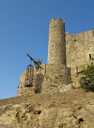 fortification: Obidos castle was a formidable medieval fortification