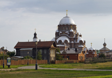 forerunner: Holy Virgin Cathedral of Ioanno-Predtechensky (John the Forerunner) Monastery at Sviyazhsk