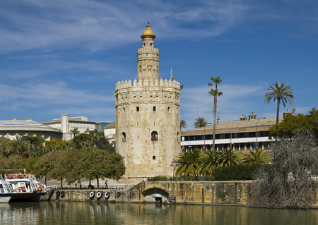 loophole: Torre de Oro is  a dodecagonal military watchtower in Seville