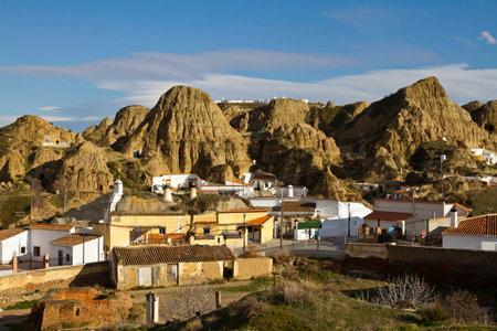 troglodyte: Guadix and the troglodyte caves - Granada Province
