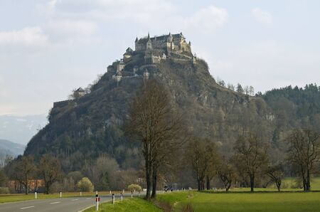 impregnable: Hochosterwitz Castle is one of the most imposing medieval castles in Austria