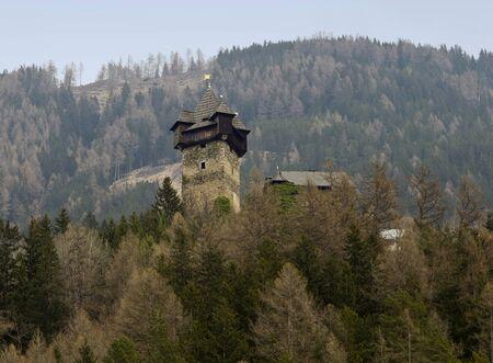 impregnable: Niederfalkenstein Castle barbican