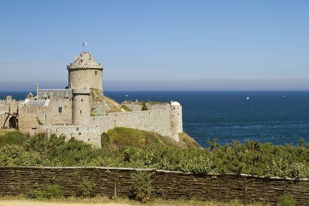 Impressive castle Fort la Latte was built on a small piece of land at the�Baie de la Fresnaye