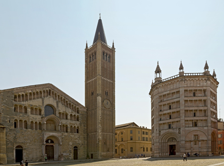 Parma Cathedral is considered one of the finest examples of a Romanesque Cathedral in Italy