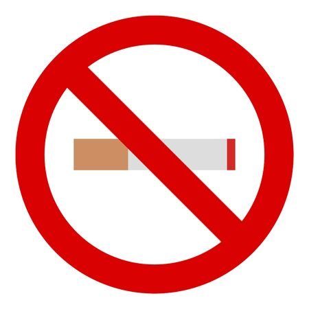 No smoking icon vecter illustration