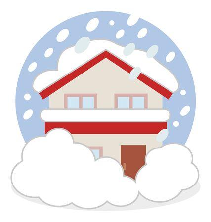 Snowstorm Snowstorm House