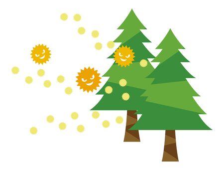 Cedar pollen 免版税图像 - 148118725