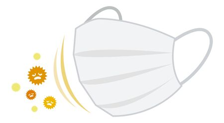 Pollen countermeasure mask
