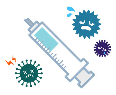 a virus that is reluctant to inject