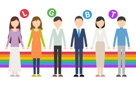 LGBT Person Rainbow