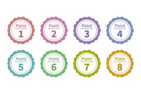 Points 1-8