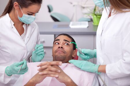 concept of fear of the dentist