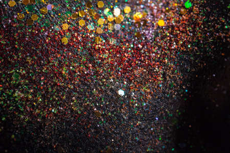 Beautiful abstract  background  with lots of sparkling and defocused lights