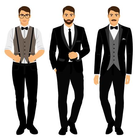 Wedding mens suit, tuxedo.