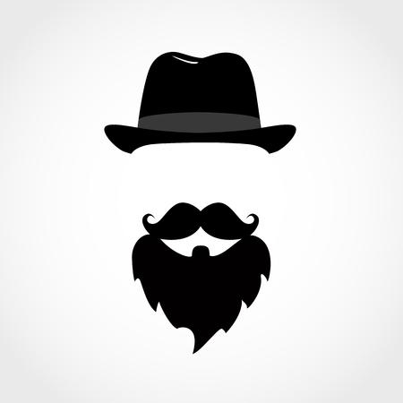 icon man isolated on white background. Gentleman icon. Vector illustration Иллюстрация