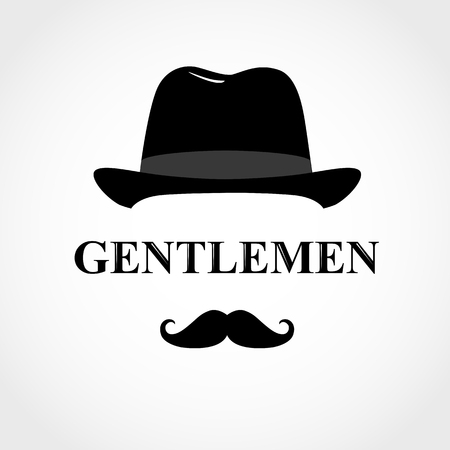 Gentleman icon. icon man isolated on white background.