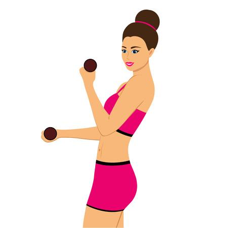 Healthy Lifestyle. Health.Sports girl. Фото со стока