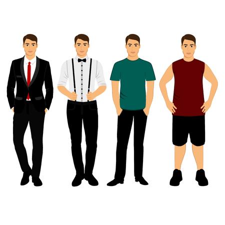 Collection. Men s Clothing. Фото со стока