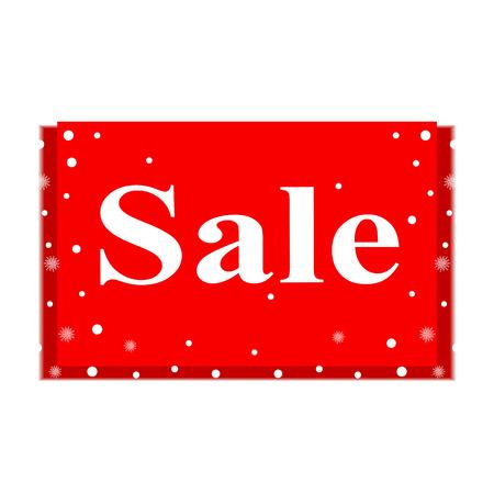 Christmas sale, banner.