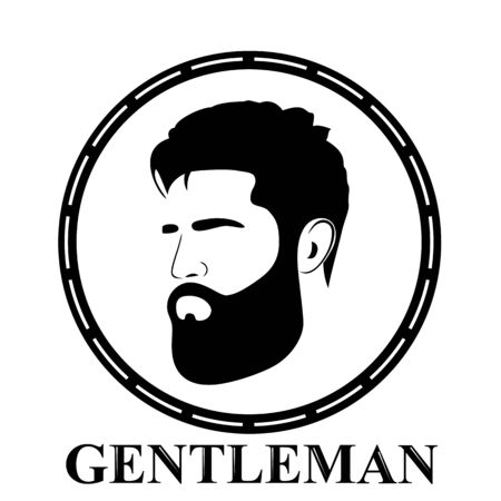 Gentleman icon. icon isolated on white background. Ilustração