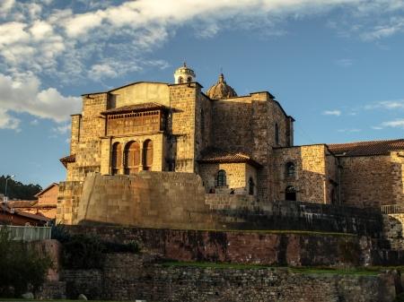 qusqu: Coricancha - Temple of the Sun  Cusco, Peru