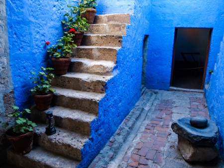 catalina: Santa Catalina monastery  Arquipa, Peru  Editorial