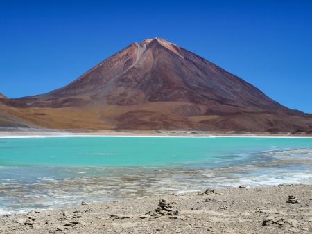 Licancabur volcano in southern Altiplano  Bolivia, Chile Imagens - 21131263