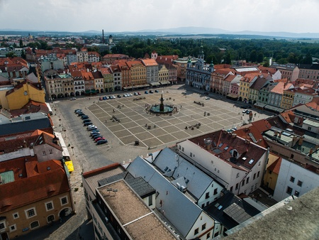 ceske: Historic centre of Ceske Budejovice (Czech Republic) Editorial