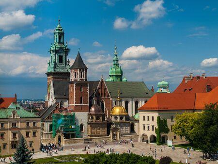 wawel: Wawel castle in Cracow (Poland)